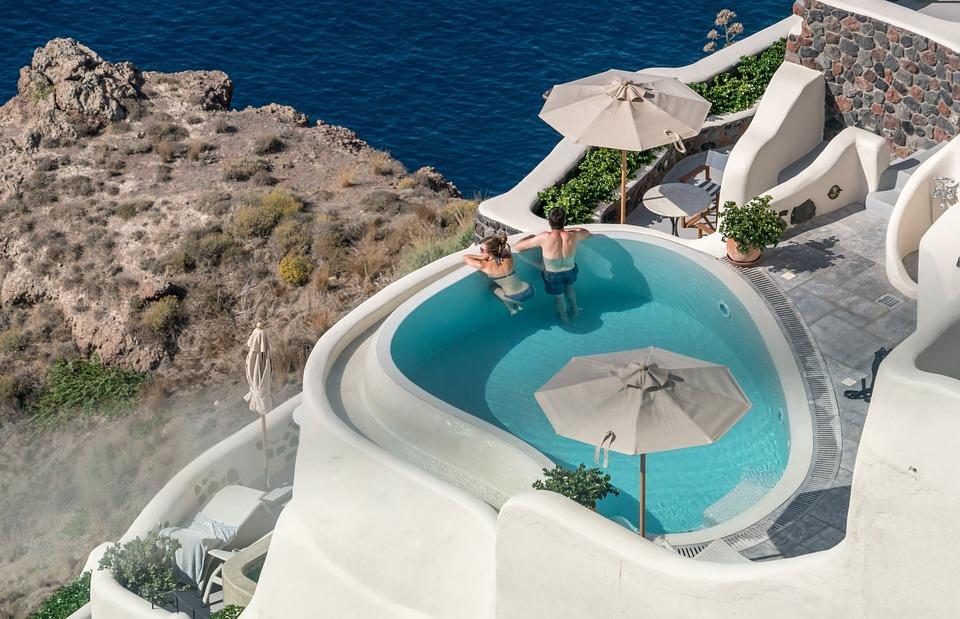 отель на острове Санторини
