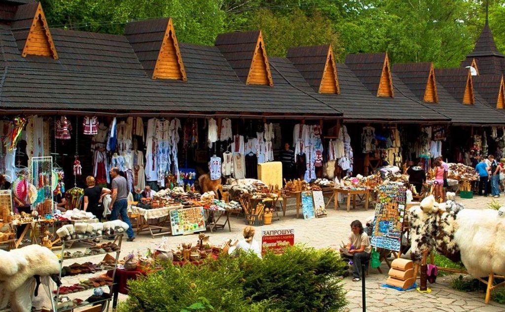 рынок в Яремче
