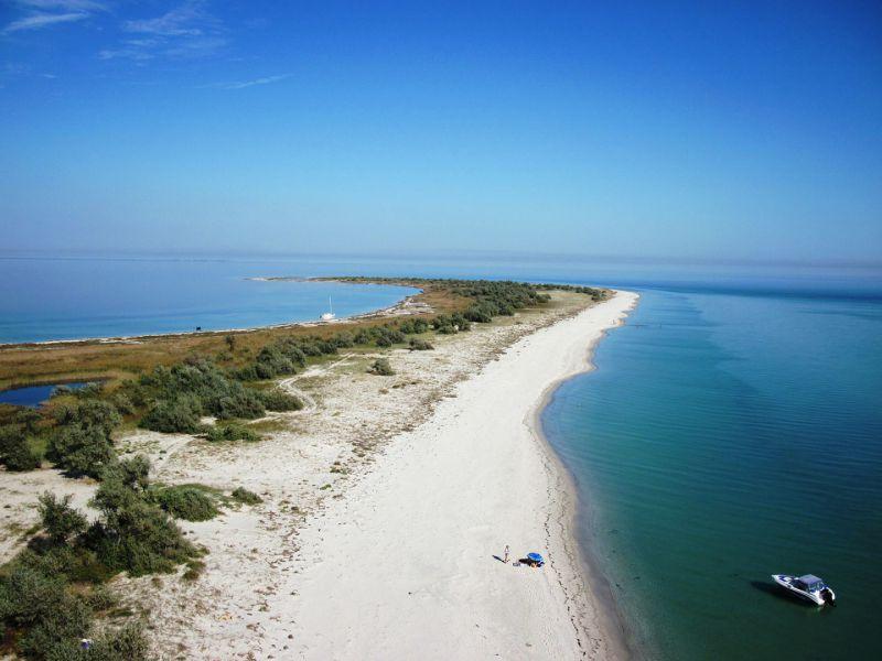 остров Джарылгач рядом со Скадовском