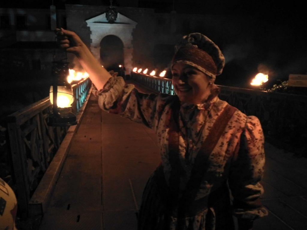 ночная экскурсия в Дубенском замке на Ривненщине