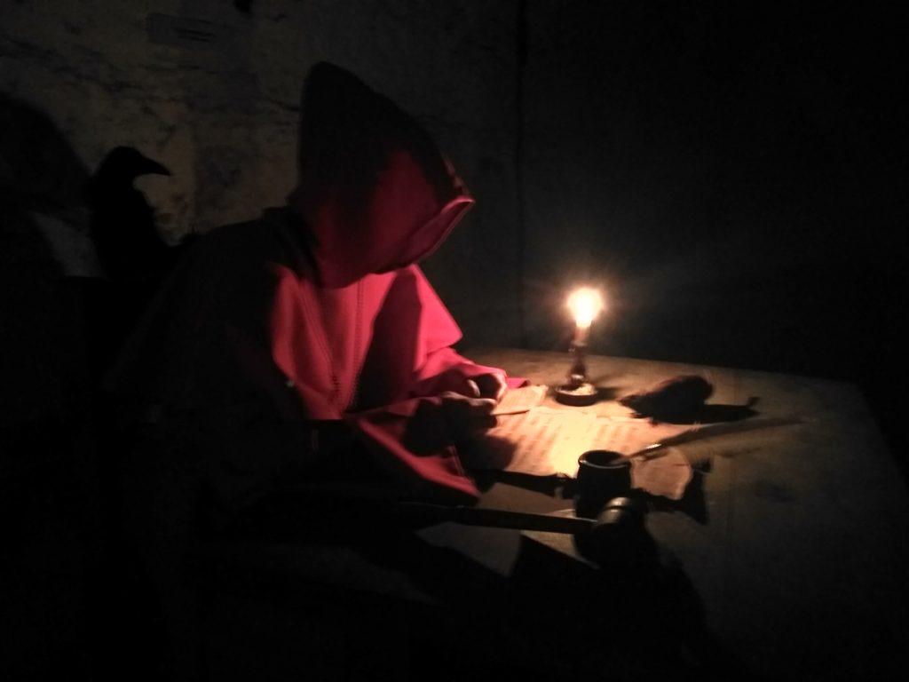 ночная экскурсия в Дубенском замке