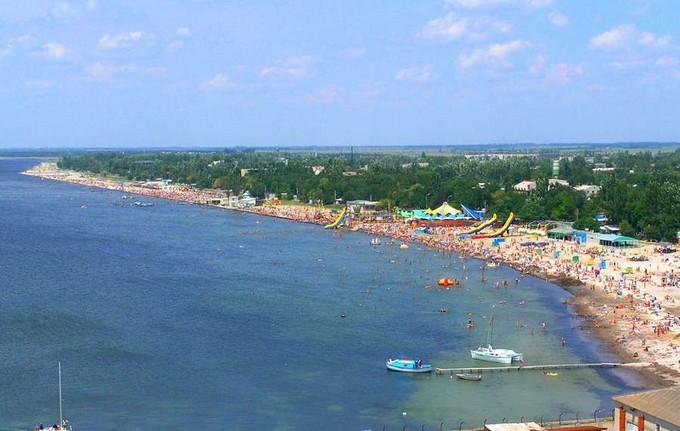 Скадовск зона отдыха пляж