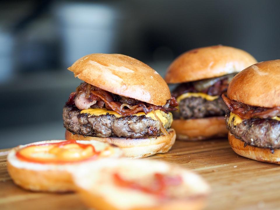 гамбургеры домашнего приготовления