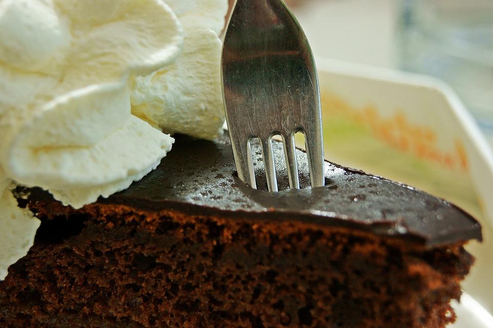десерт торт захер