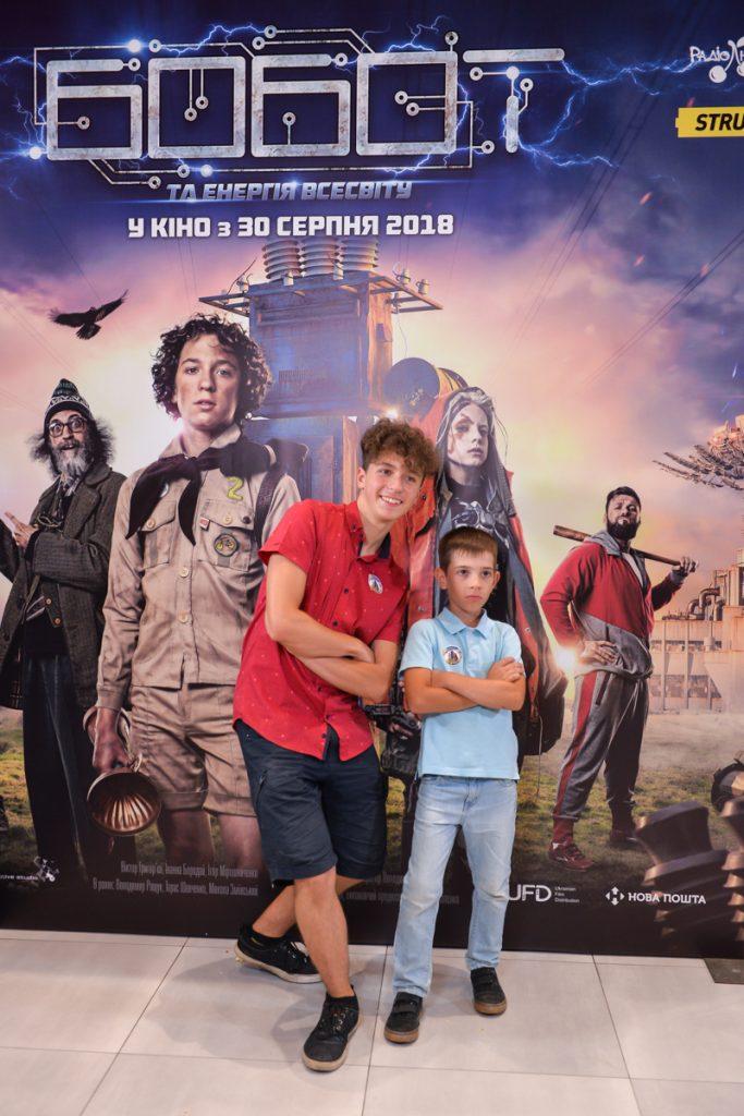 Главную роль в фильме исполнил 14-летний Виктор Григорьев.