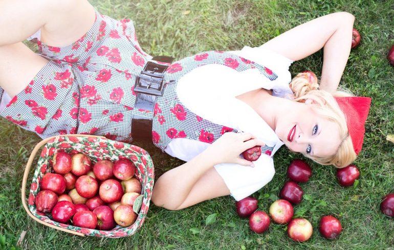 Маски красоты из яблок