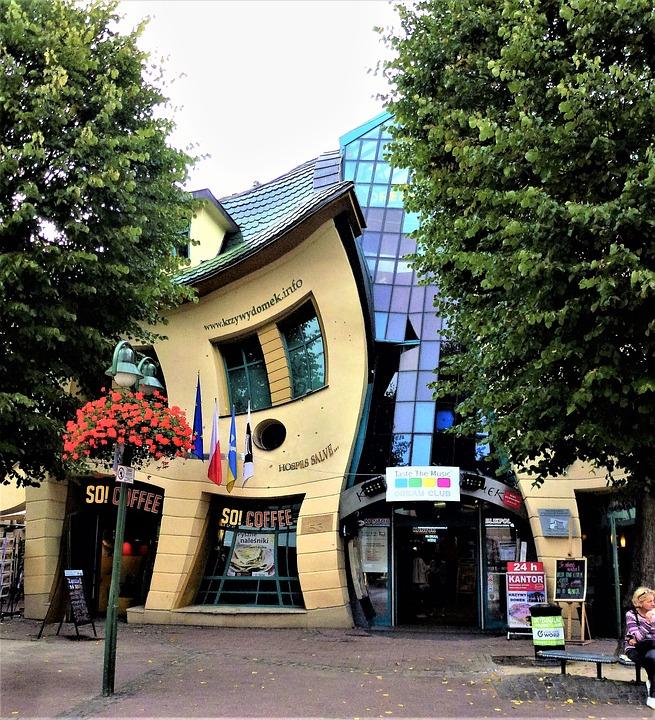 Сопот и Танцующий дом в Польше