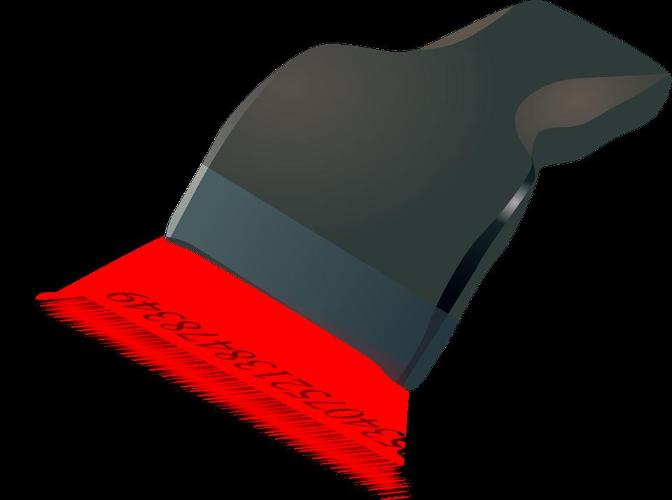 штрихкод считывается специальным сканнером