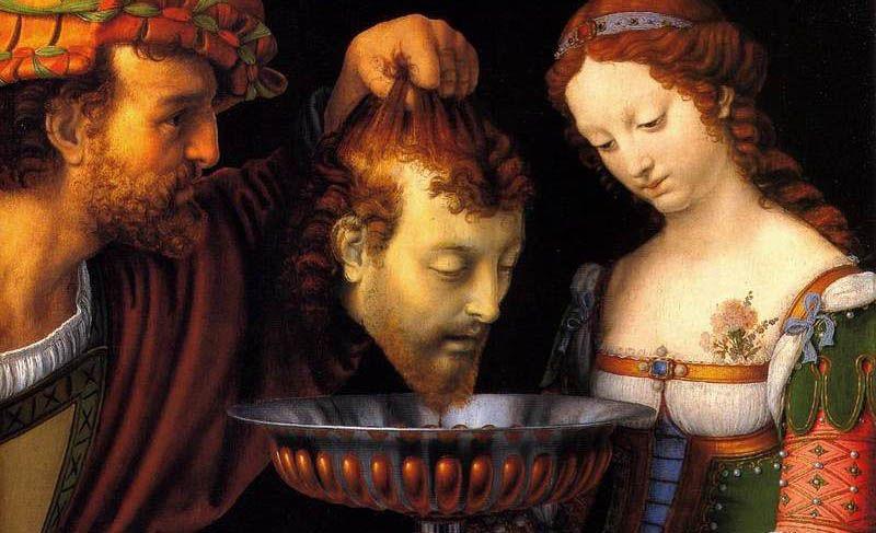 Саломея получает голову Иоанна