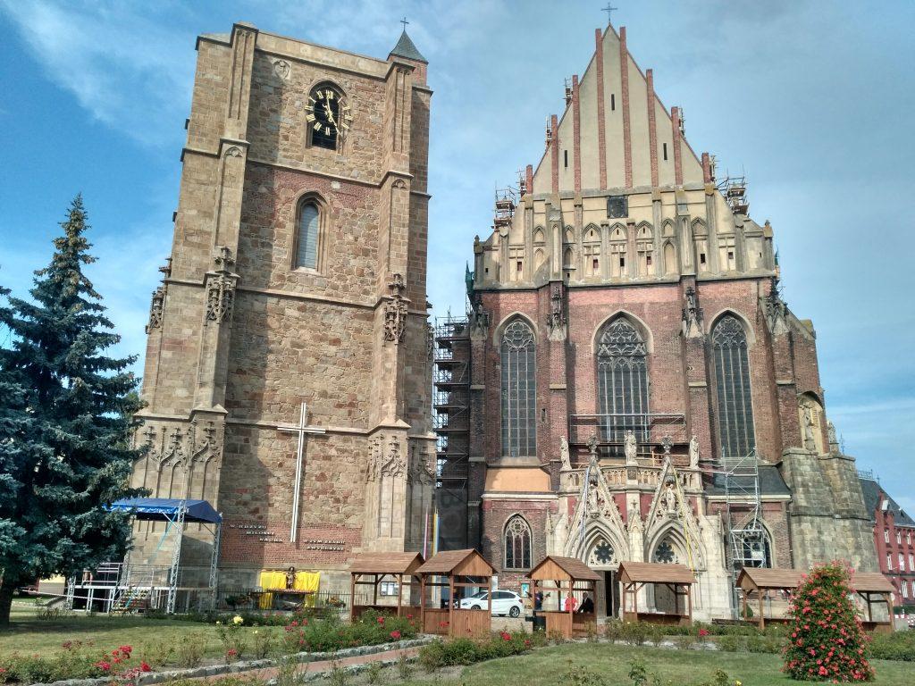 Древний город Ныса в Польше