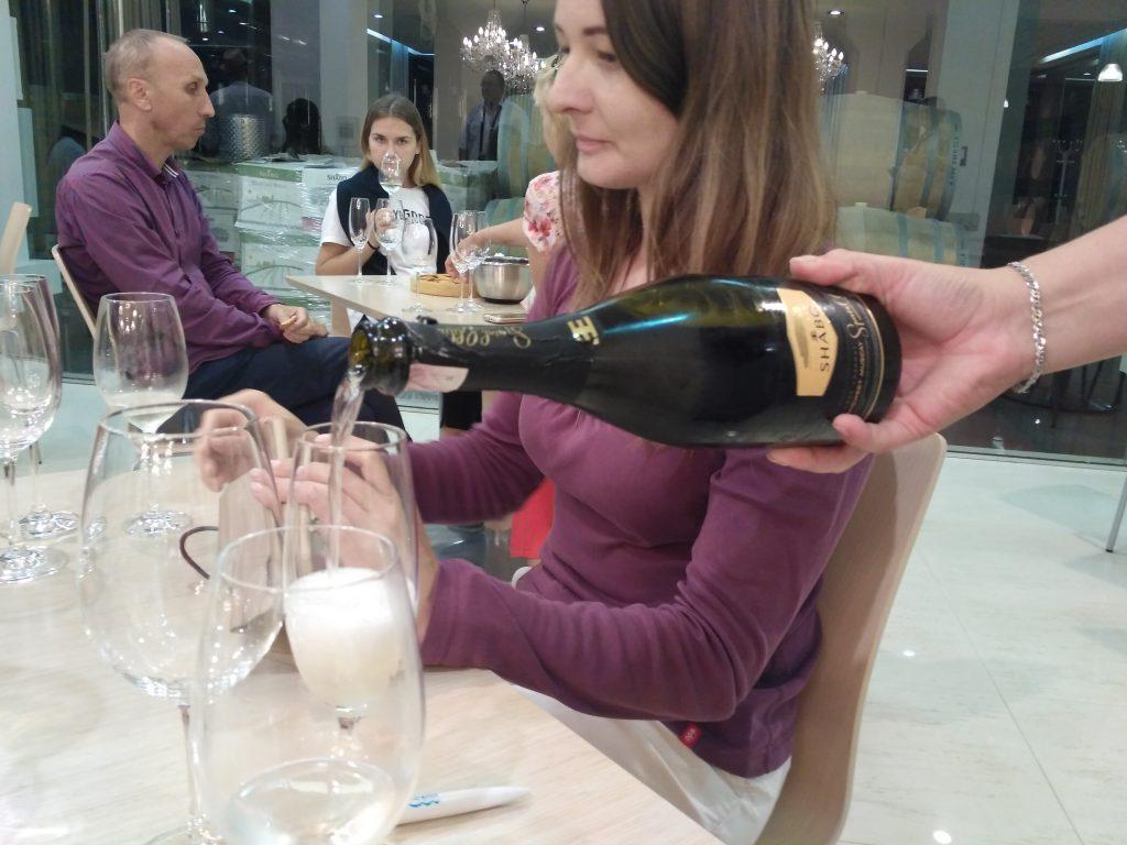 дегустация вина в Шабо