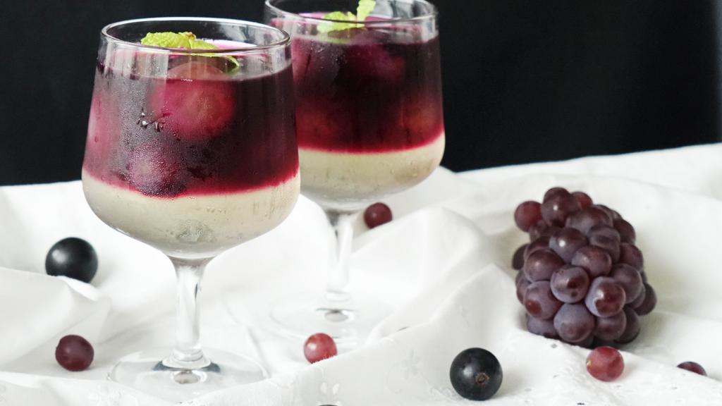 виноград в виде желе