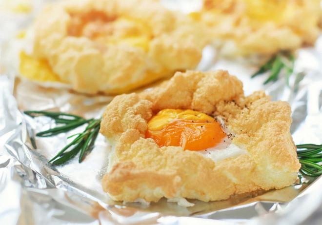 оригинальное блюдо из яиц орсини