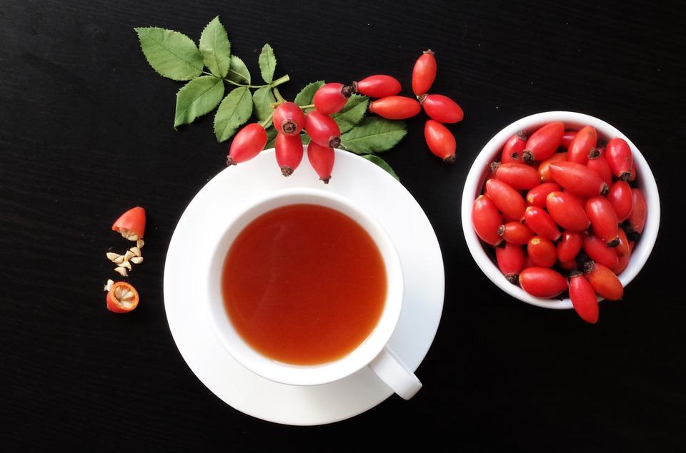 чай для осени из шиповника