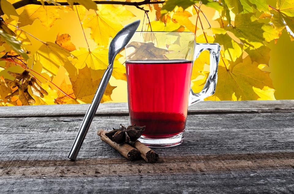 полезный чай для осени