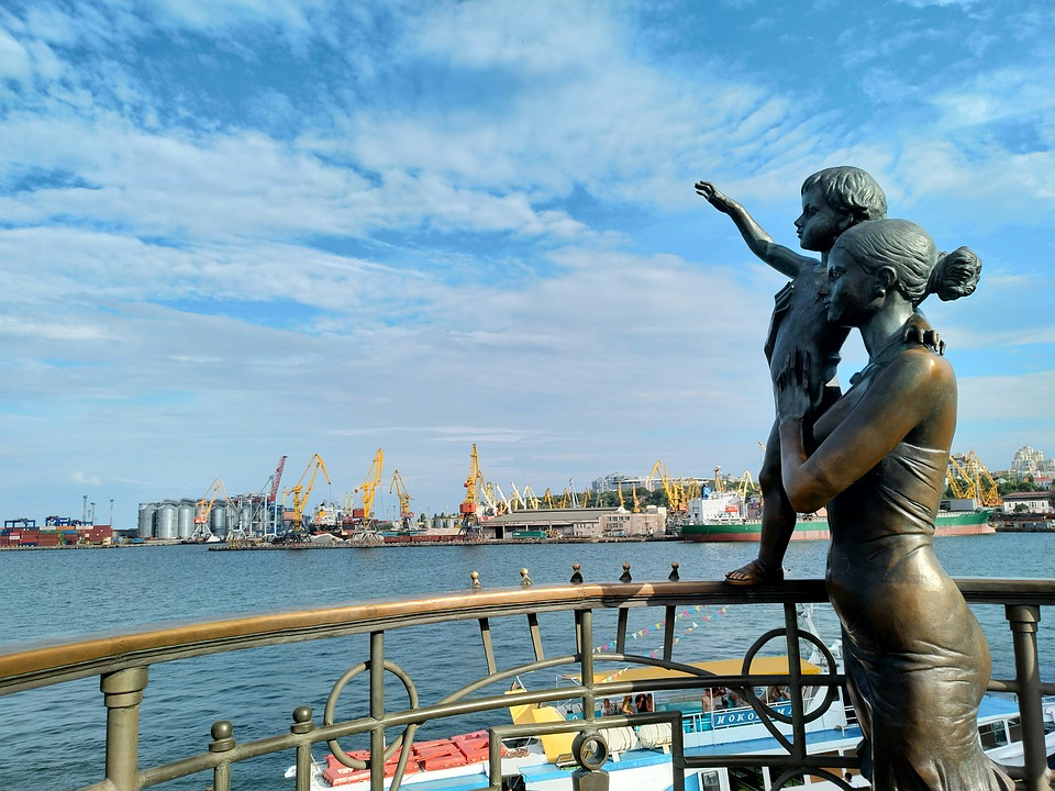 лето в Одессе порт