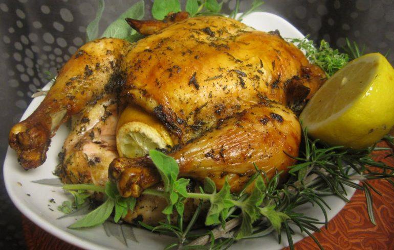 обручальная курица, рецепт