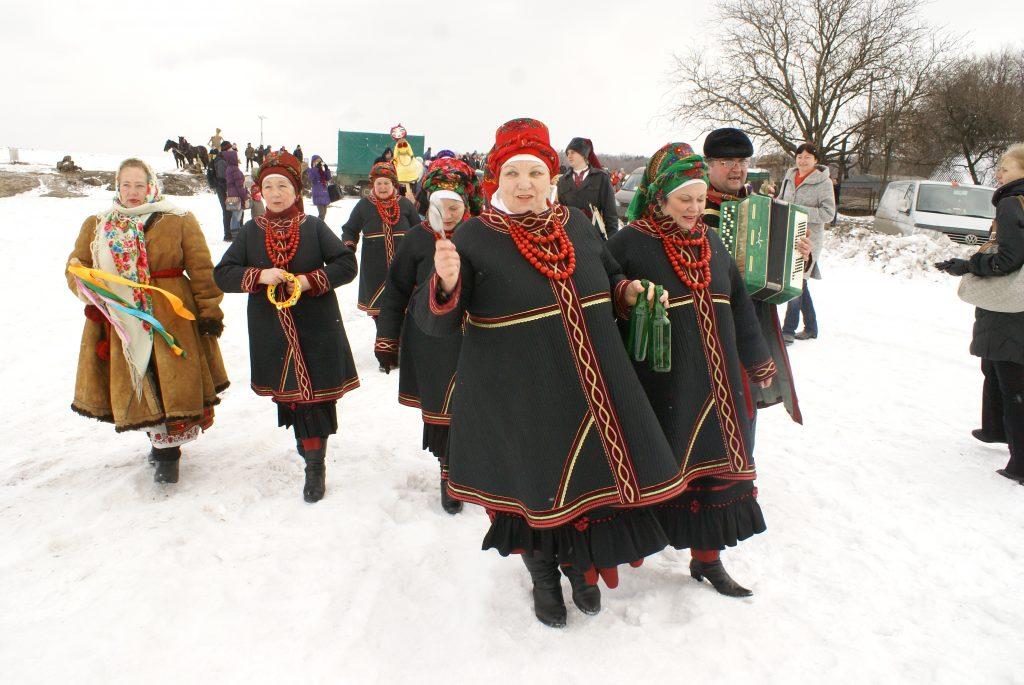 Зима в українському скансені: від Романа до Йордана