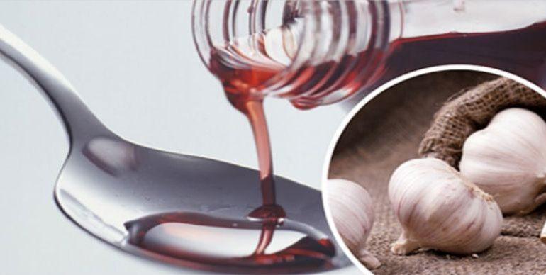 Ядреное вино с чесноком для здоровья