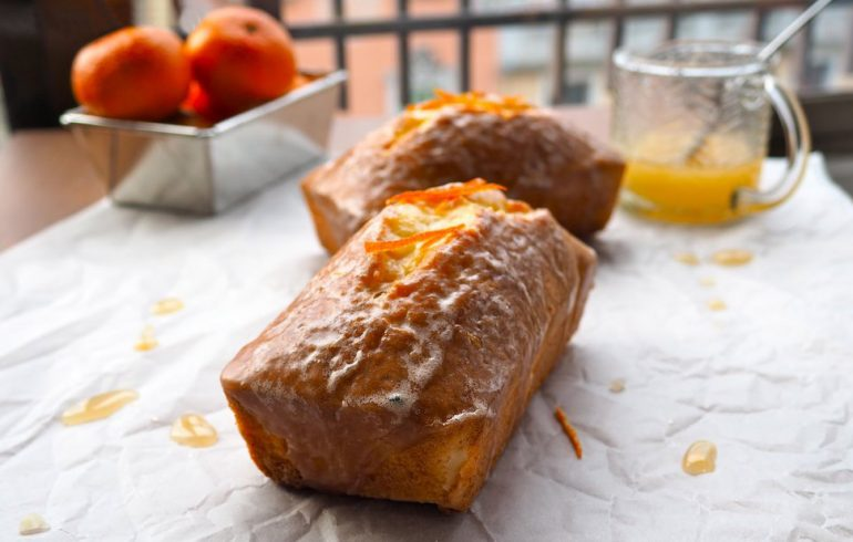 мандариновый кекс рецепт