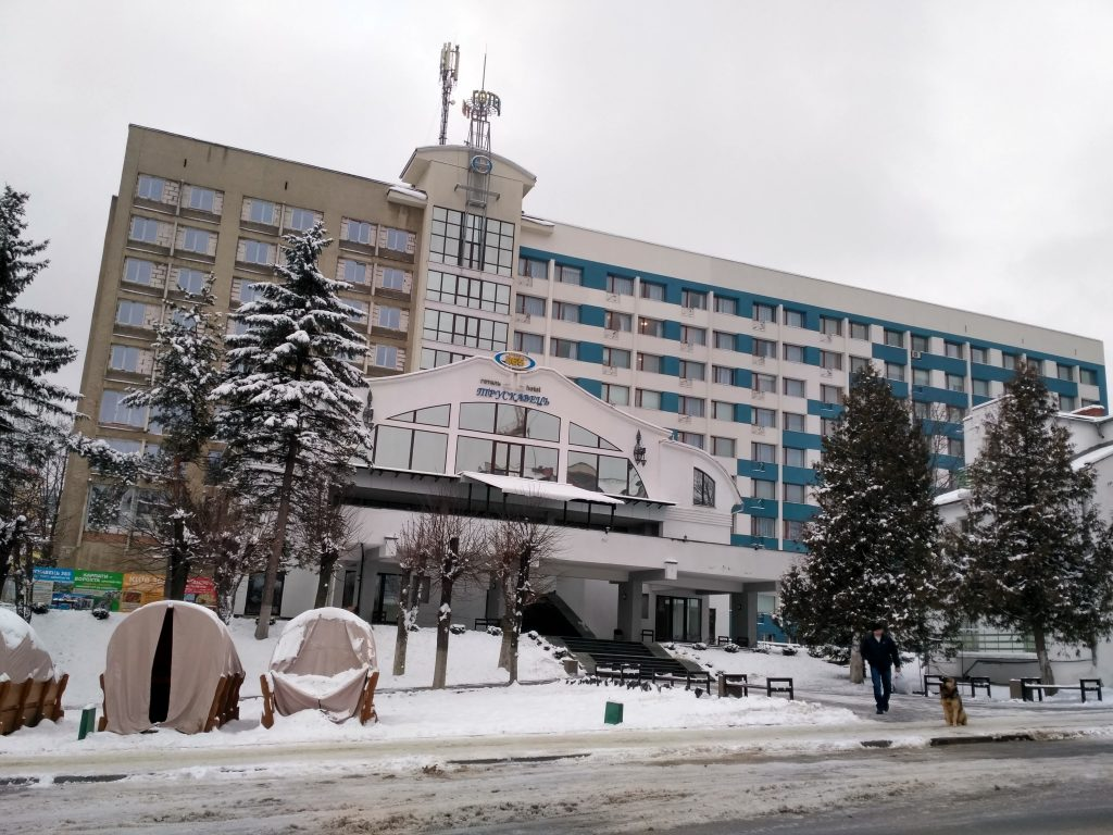 Здание гостиницы Трускавец 365