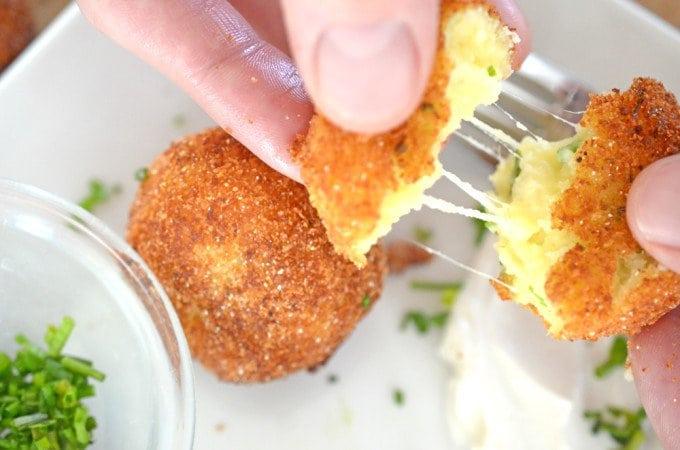 рецепт картофельных шариков
