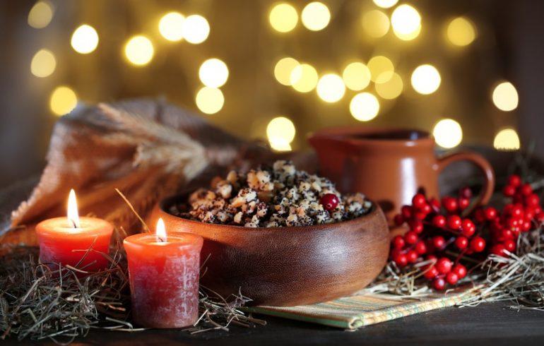 рождественский пост, постные блюда