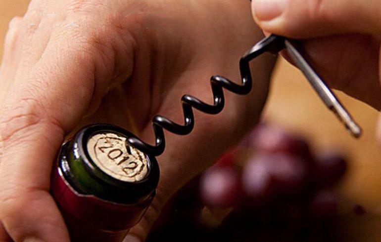 открываем, закрываем, вино, бутылка