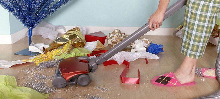 Уборка, после Нового гоада, секреты уборки, как вывести краску