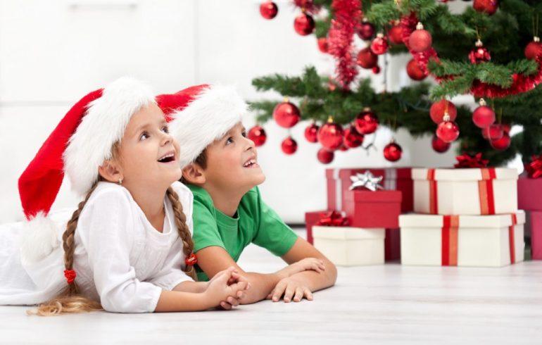 елка,дети,Новый год