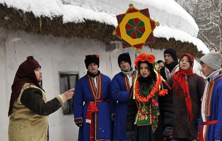 колядники, Украина