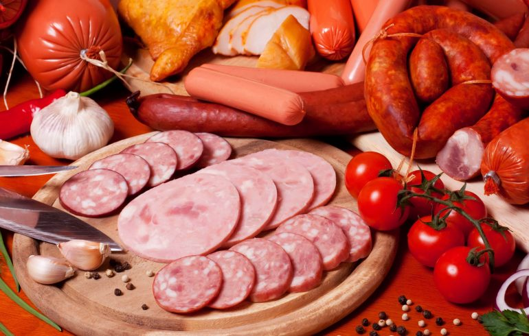 колбаса, мясо, колбасные изделия