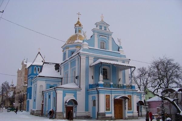 Церковь Рождества Пресвятой Богородицы в Самборе