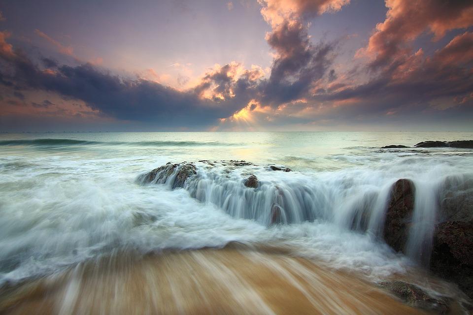 море,океан