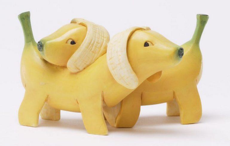 фигурки из бананов