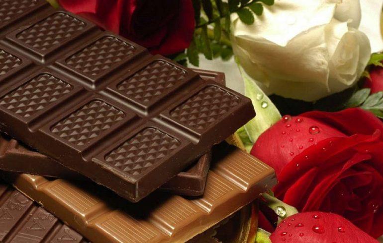 плитки шоколада