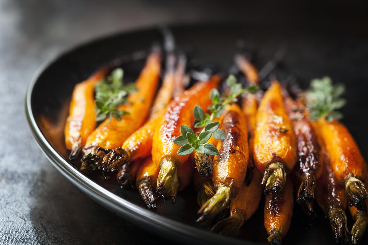 морковь в кокао