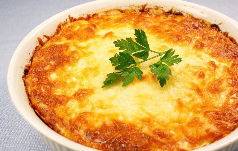 рецепт, пост, картофель, запеканка