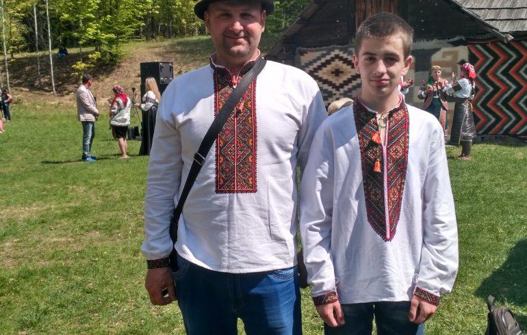 мастер с сыном на ГраждаFest