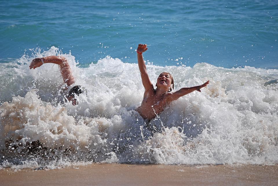 Распечатать, картинки с купанием