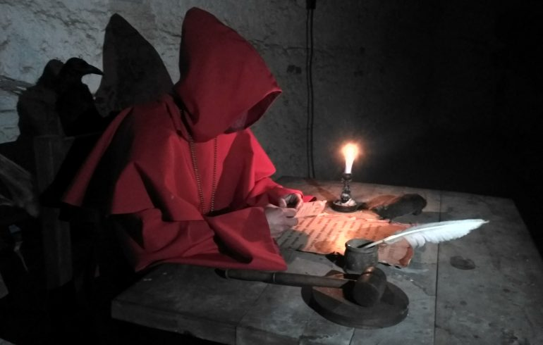 приключения на Ривненщине в Дубенском замке инквизитор
