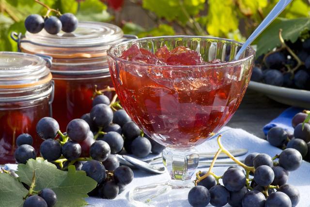 Виноградные десерты или как приготовить из винограда варенье и желе