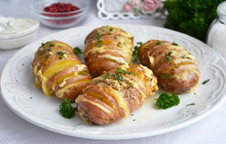 картошка, сыр, рецепт