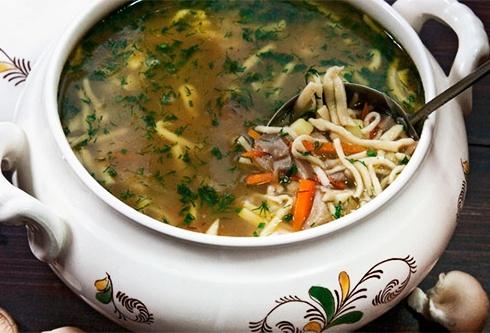 вешенки, суп, рецепт, диетический