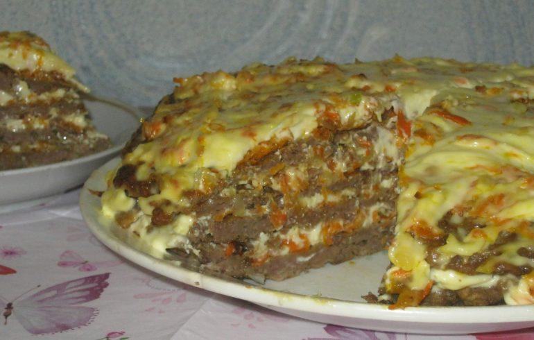 Печеночный торт. Пошаговый рецепт