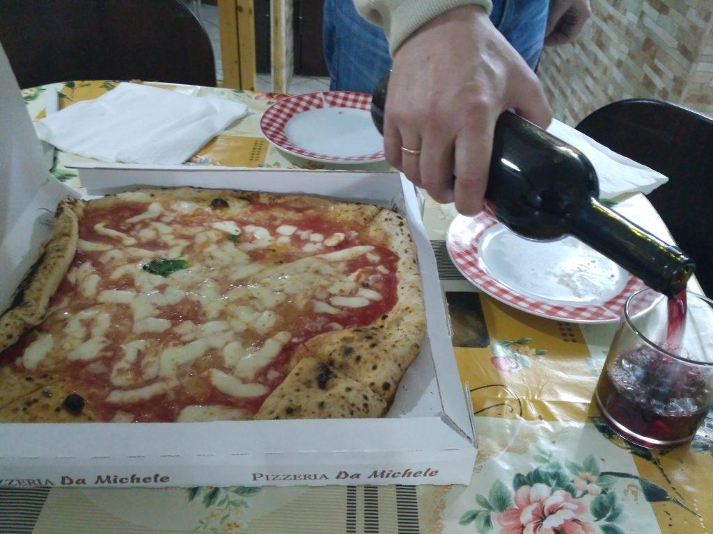 Пицца из заведения Da Michele
