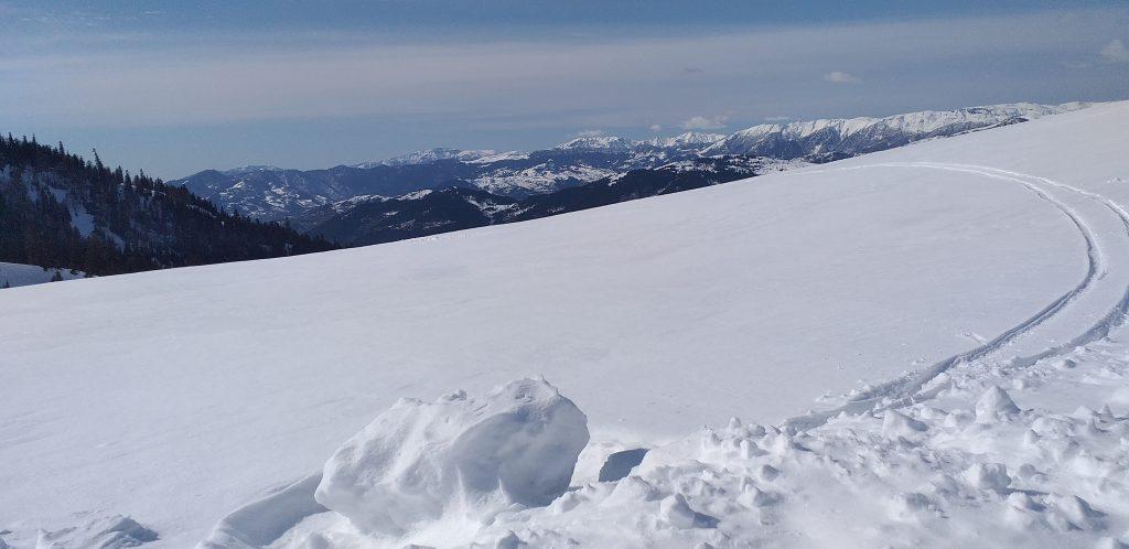 снежные пейзажи Годердзи