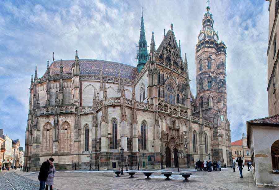 собор святой Эльжбеты в Кошице