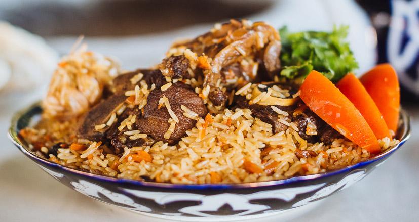 плов, рис, баранина, блюдо, рецепт