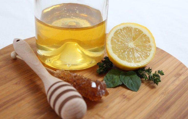 народная аптечка, мед, лимон, чеснок, рецепт